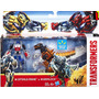 Transformers Set Walmart Exclusivo Optimus Prime Y Grimlock!
