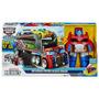 Transformers Rescue Bots Optimus Prime Camion Rescate Hasbro