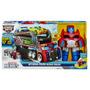 Transformers Rescue Bots Optimus Prime Trailer Hasbro T Y P