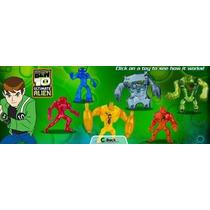 Ben 10 Ultimate Alien Colección Mc Donalds 6 Unidades