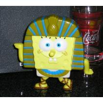 Muñeco Bob Esponja Burger King 2005 Faraon Egipcio