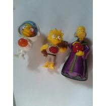 Muñecos De Los Simpsons Mcdonalds