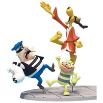 Set Hong Kong Phooey Y Spot - Hanna Barbera - Mc Farlane Toy