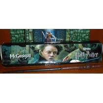 Varita Magic Wand Harry Potter Profesora Minerva Mcgonagall