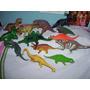 Lote De 13 Dinosaurios