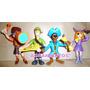 Scooby Doo Set X 4 Personajes - 2 Modelos En Agranaditos