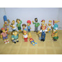 The Simpsons Excelentes ! Set X14 Figuras Homero Bart Otto