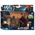 Star Wars Figura C/ Nave Sith Speeder With Darth Maul Z. Dvt