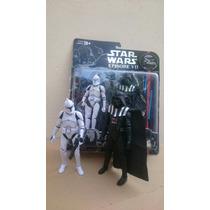 Star Wars Set Figuras X 2 Darth Vader Y Trooper