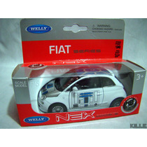 Star Wars Fiat 500 R2-d2 Welly Escala 1/36