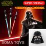 Star Wars Espada Laser Luz Sonidos + Mascara Darth Vader Ver