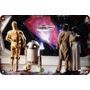 Cartel Chapa Guerra De Las Galaxias Star Wars 25x25cm Fi-367