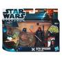 Star Wars Sith Speeder Con Darth Maul Hasbro Nuevo - Filsur