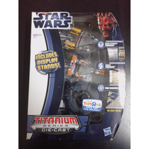 Star Wars Subasta !!! Titanium Series Die Cast ( Hasbro )