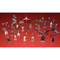 Colección Star Wars: Figuras A Escala De Plomo Hechas A Mano
