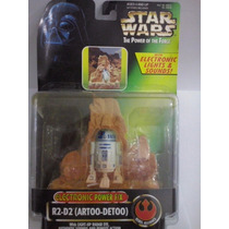Star Wars R2 D2 Electronic Power F/x Kenner 69646