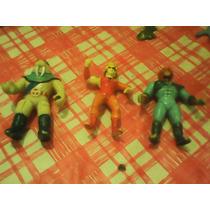Lote De 3 Muñequitos Thundercats 250 Pesos