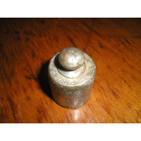 Antigua Pesa Grabada 200 Gr Ind Arg Bronce Plateado Sellada