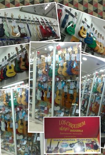 Pie Soporte Para 5 Cinco Guitarra - Bajo Plegable Metalico