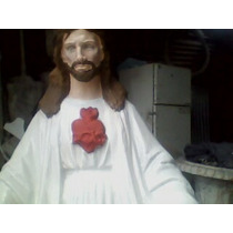 Estatua Cristo Sagrado Corazon