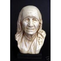 Madre Teresa - Busto - Escultura Sorprendente Hiperrealismo!
