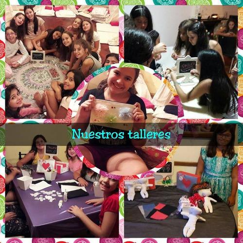 Pijamada-party-spa De Nenas-soy Luna-animacion-karaoke