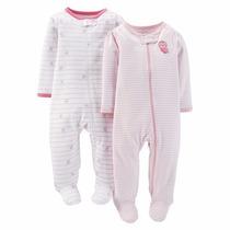 Pijamas Joy Carters Nena Y Varon Set De 2