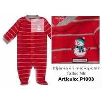 Pijama Carters Micropolar / Algodon / Microtoalla