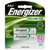 Pilas Energizer Recargables Aa2 Lote De 10 Pilas 1400 Mah