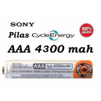 Pila Recargable Sony Cycle Energy Aaa 4300mah Made In Japon