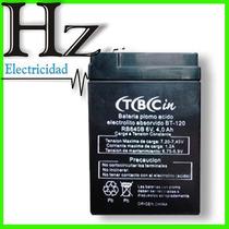 Bateria Gel Recargable 6v Luz De Emergencia Ups Alarma Autos