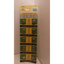 Blister De 10 Pilas Ag3 P/ Relojes Calculadoras Electronicos