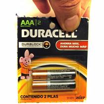 Pilas Duracell Aaa Alcalina Mn-2400 X Unidad