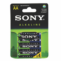 Pilas Aa Sony Alcalinas En Blister Caja Cerrada 48 Unidades