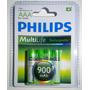 Pilas Aaa Recargables Philips 900mah Blister X 4 Ni-mh