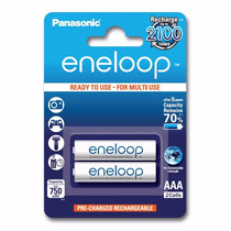 Pilas Panasonic Eneloop Recargable Aaa