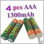 Pack De 4 Pilas Aaa De 1300 Mah Recargable Tamiya