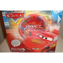 Pileta Inflable 3 Anillos, The Cars- Disney Pixar