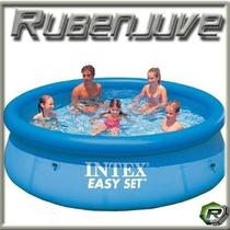 Pileta Intex Inflable 305cm X 76cm - Easy Set - De Lona