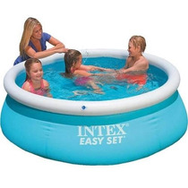Pileta Intex 183x51cm Easy Set Autoportante Aro Inflable