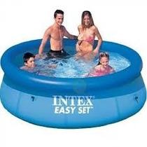 Pileta Intex 244cm X76cm+cobertor Intex+ Inflador Gratis!!!