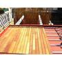 Deck Eucaliptus Grandis 1x4 Sistema Clip Sin Nudos Fabrica