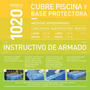 Pelopincho 1020 Cubre Piscina Base Protectora Origina Pileta