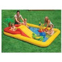 Pileta Inflable Intex Con Tobogan, Palmera Y Spray