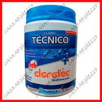 Clorotec - Cloro Tecnico Granulado X 1 Kilo Precio Imbatible