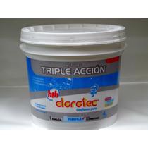 Cloro Pastillas Triple Acción Clorotec De 200 Grs. X 4 Kg