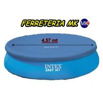 Cobertor Intex 457 Cubrepileta Inflable Easy Set