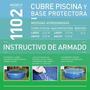 Cubre Pileta Pelopincho Redonda + Base Protectora Mods 1102