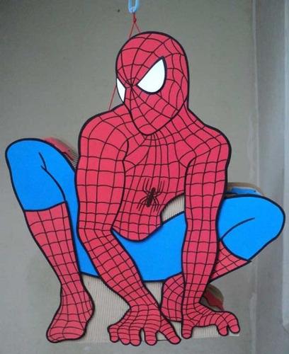 Piñatas del hombre araña - Imagui