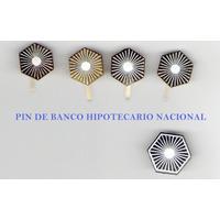 5 Pins De Banco Hipotecario Nacional